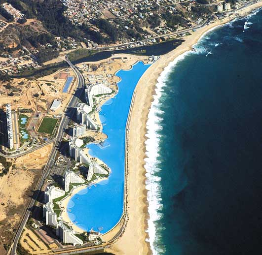 San Alfonso del Mar - The Biggest Swimming Pool in the World